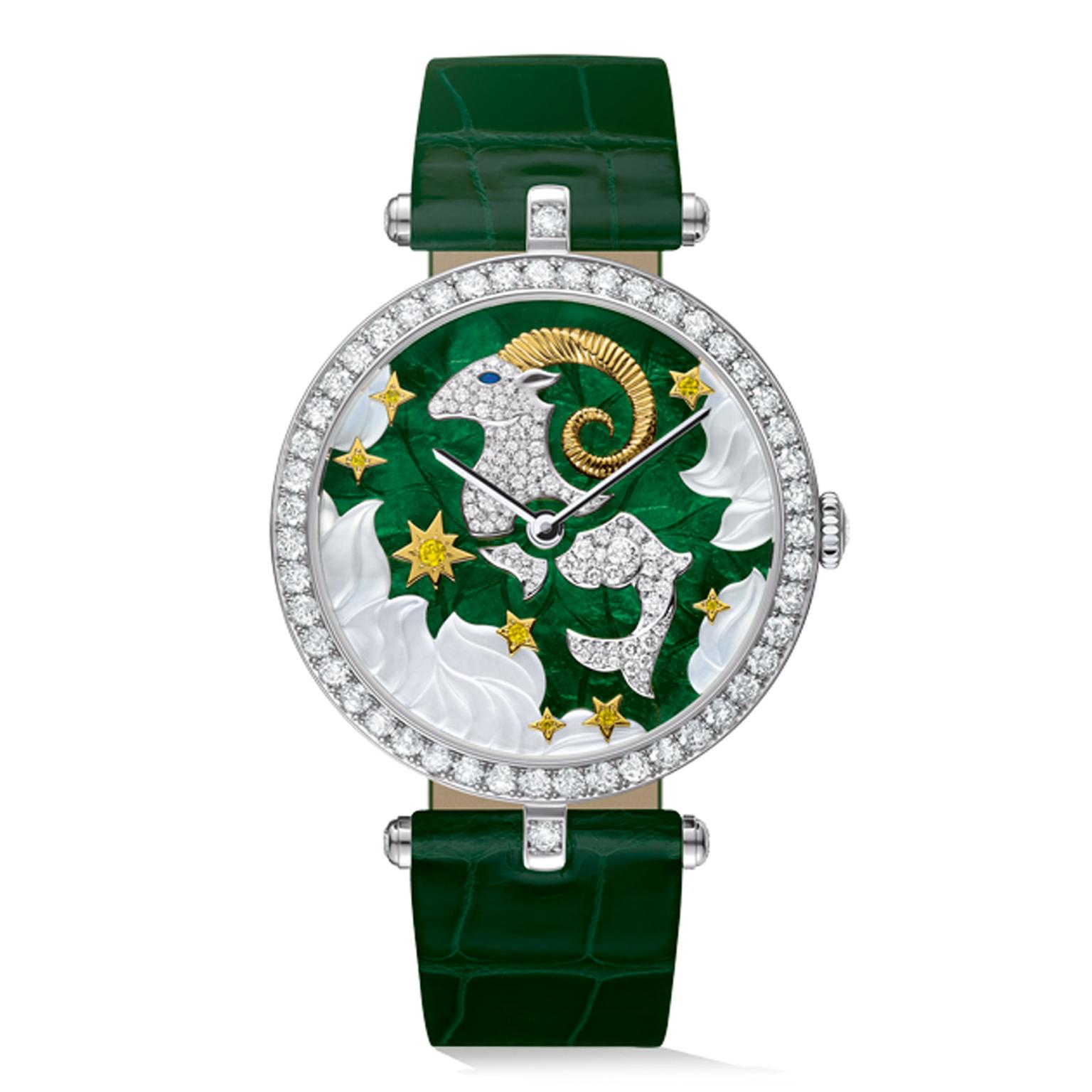 Van-Cleef-Capricorn-Watch-Zoom