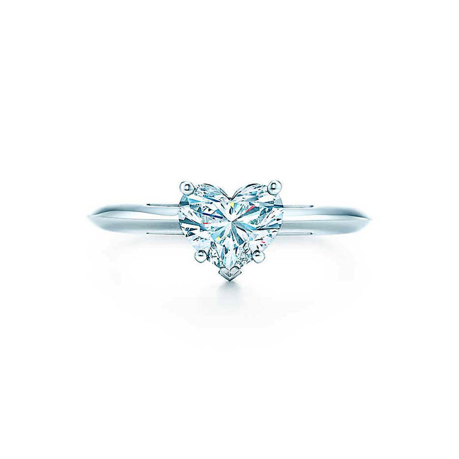 Heart Shaped Diamond Engagement Rings The Most Romantic