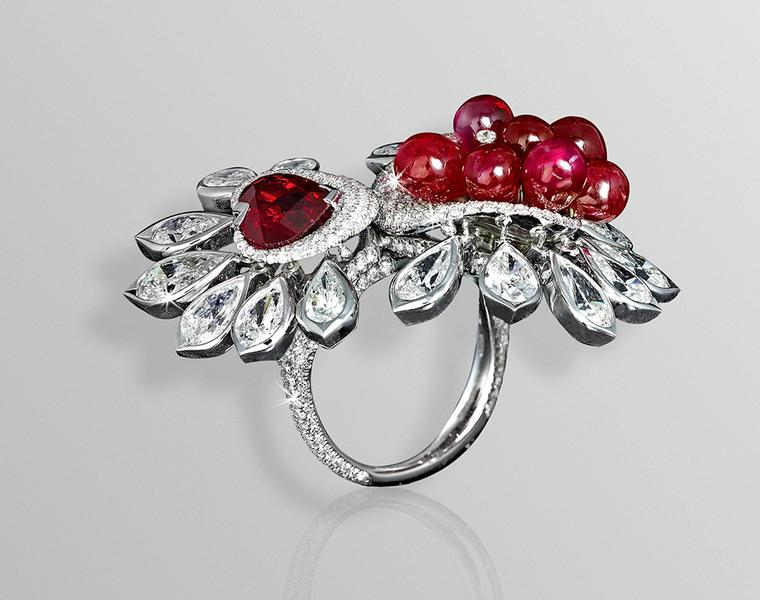 Bejewelled butterflies and floral finery from London jeweller David Morris