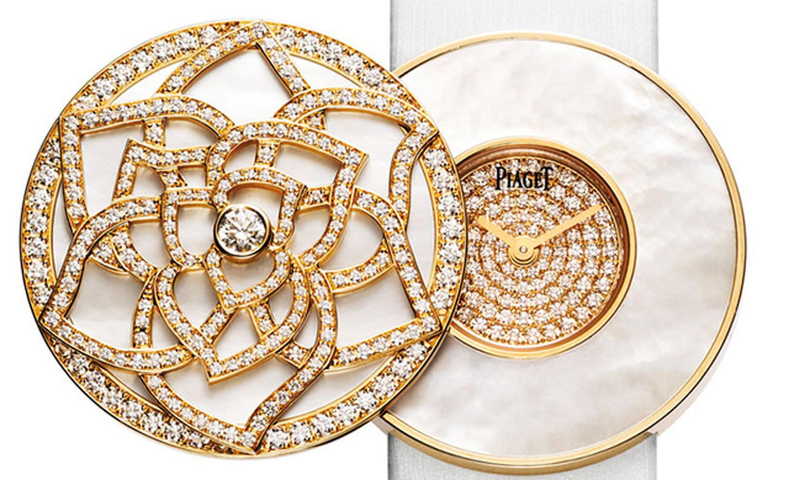 Piaget Limelight dial close crop