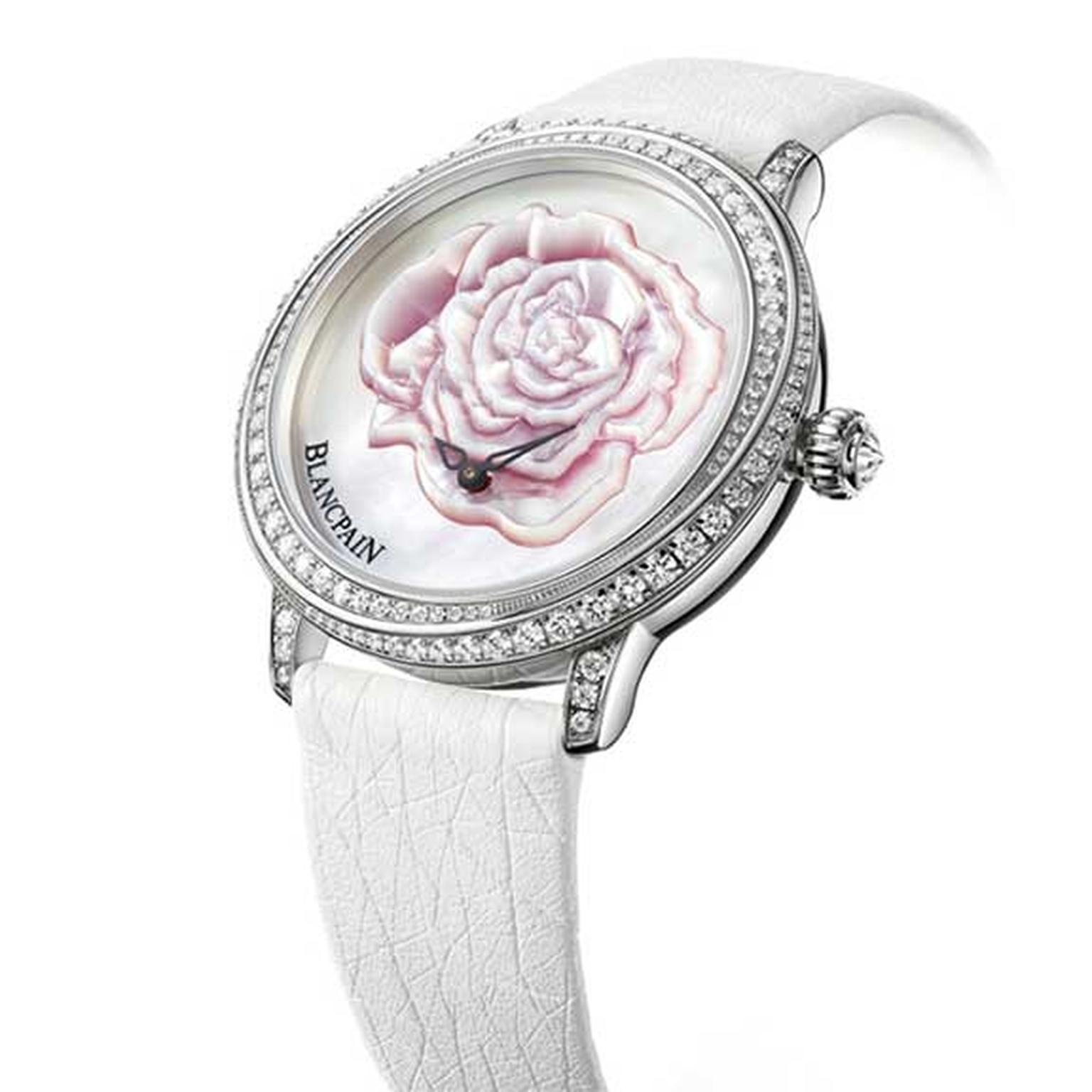 Blancpain valentines day ladies watch