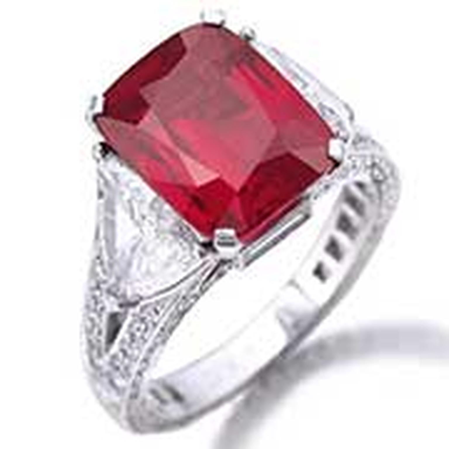 Graff ruby ring NL