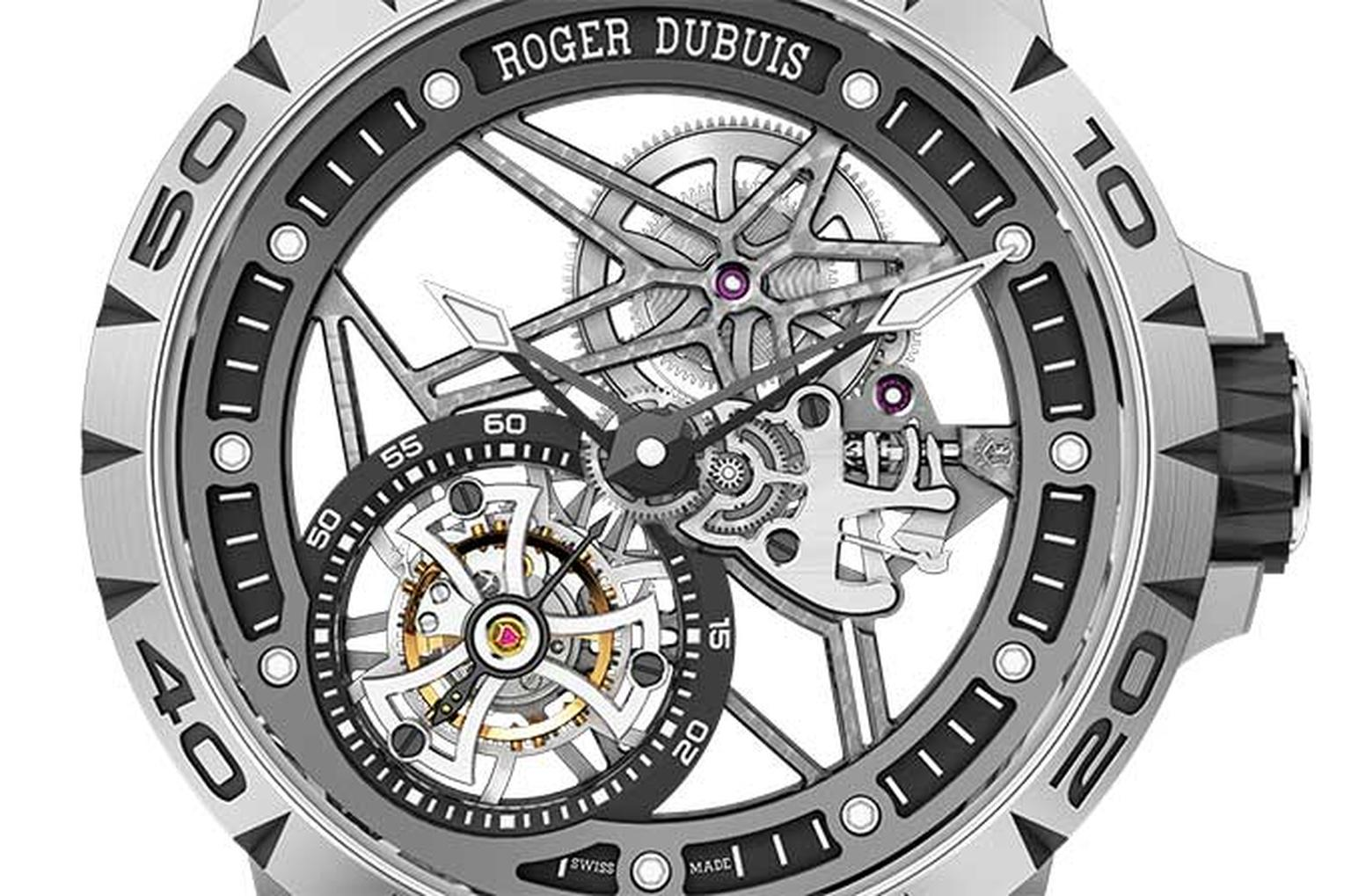 Roger Dubuis Skeleton watch HP