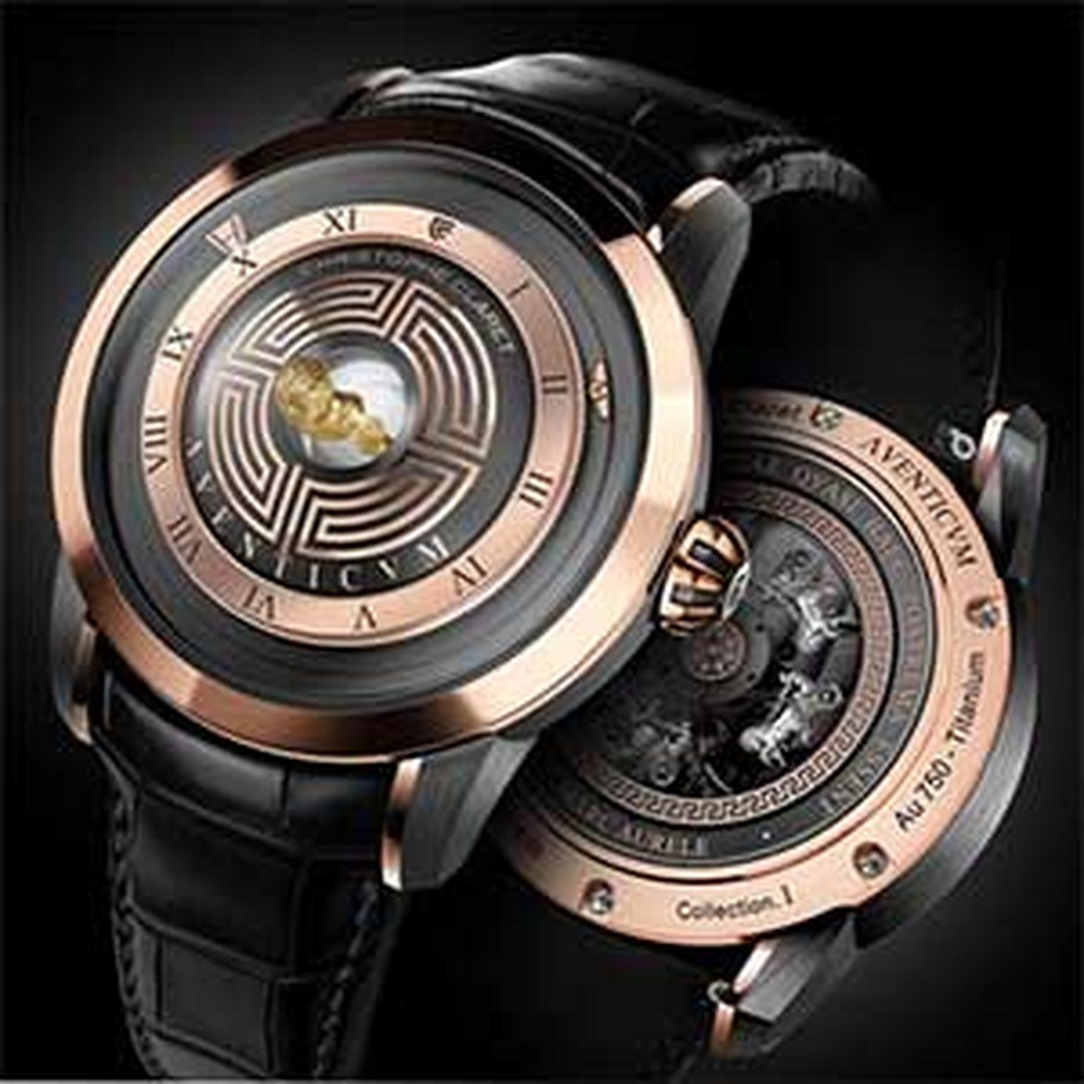 Christophe Claret Roman watch