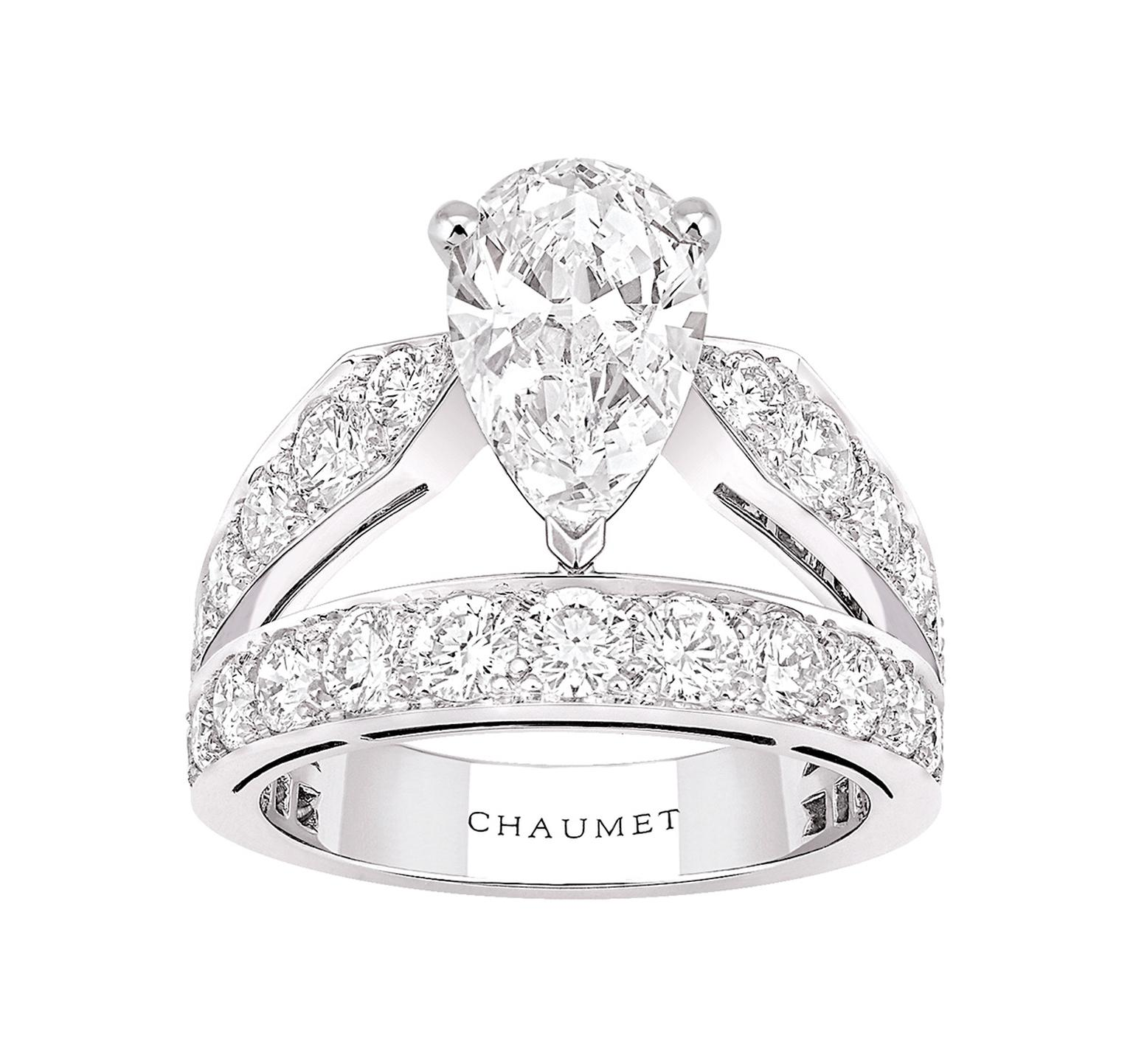 Chaumet\'s Tiara Ring: a miniature tribute to the bejewelled ...