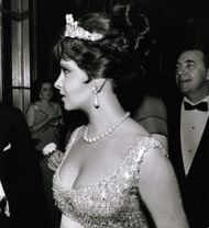 Preview of Gina Lollobrigida auction of Bulgari jewels at Sotheby's London
