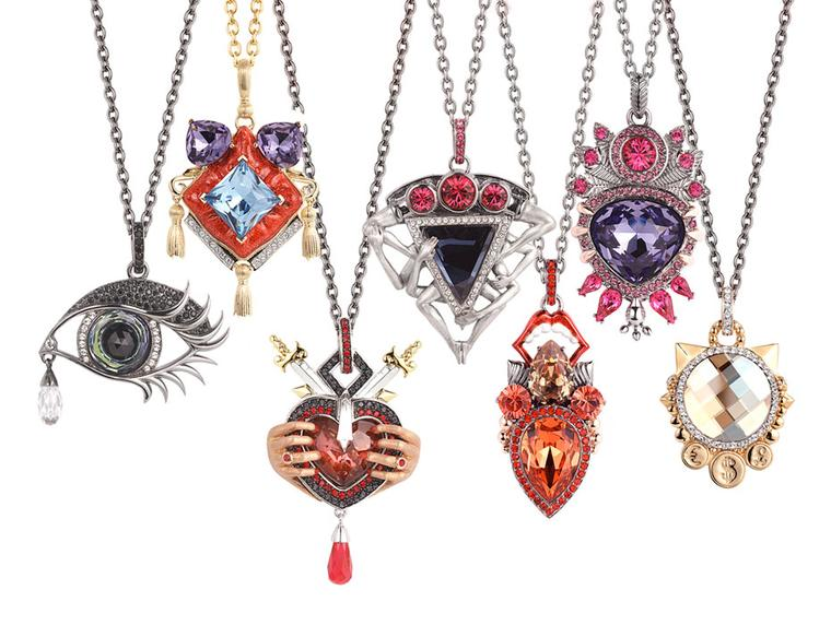 Stephen Webster. The Seven Deadly Sins Pendants