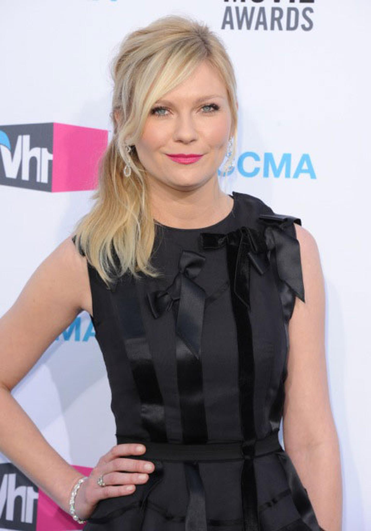 Kirsten Dunst chooses Harry Winston