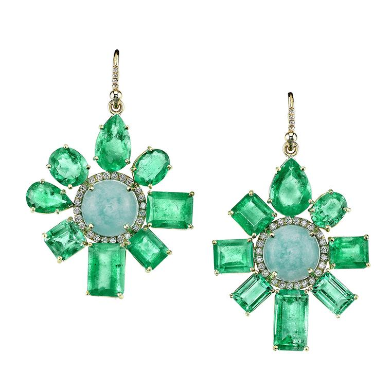 IreneNeuwirthemeraldamazoniteearrings