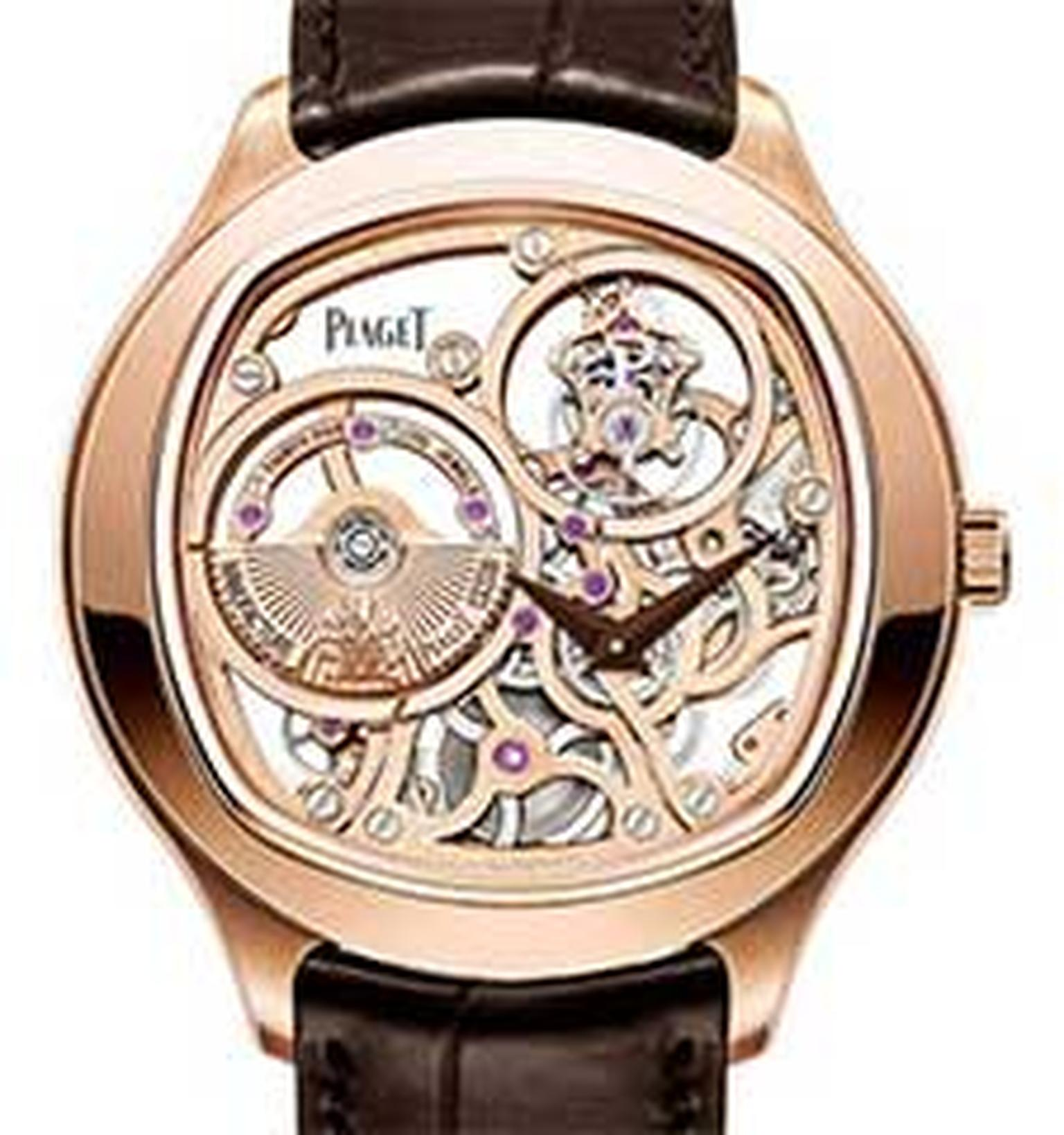Piaget tourbillon watch HP