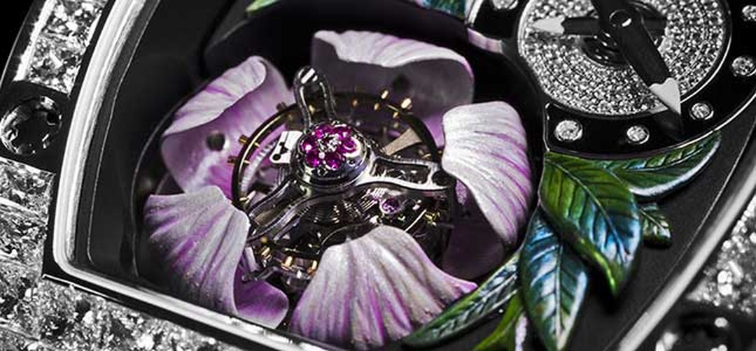 Richard Mille Tourbillon Fleur HP
