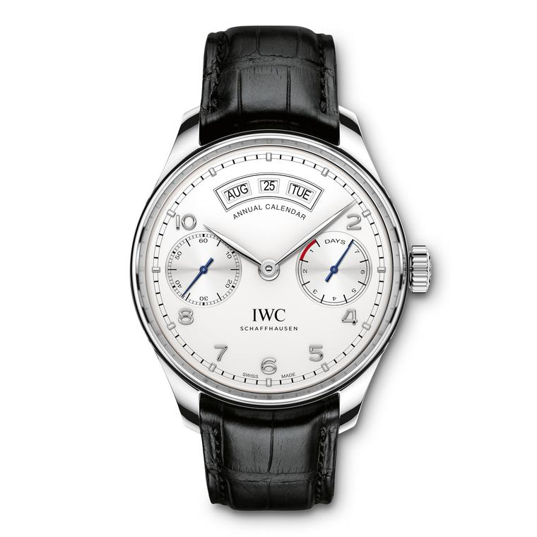 IWC Annual Calendar Steel Zoom