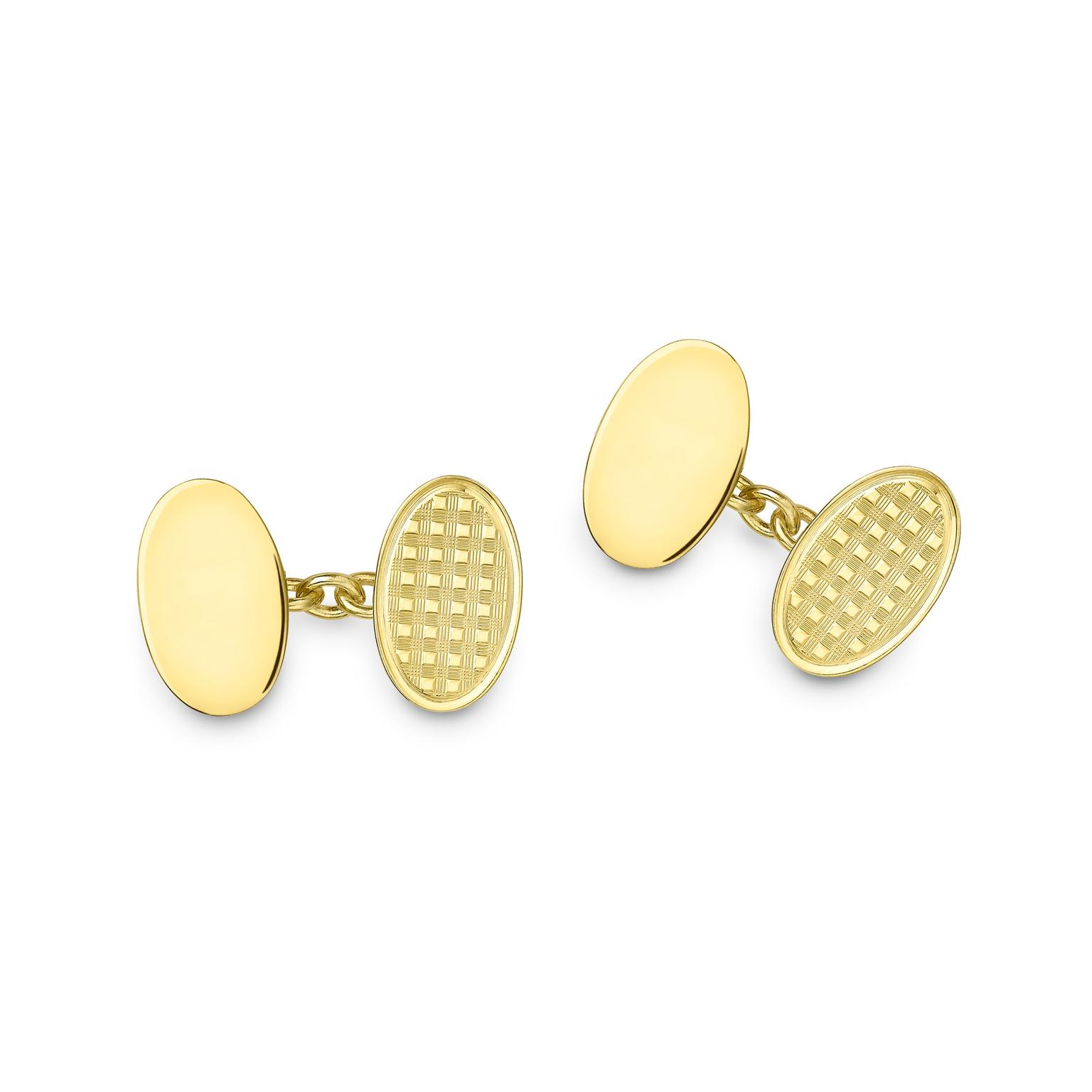 DeakinFrancis Gold cufflinks zoom