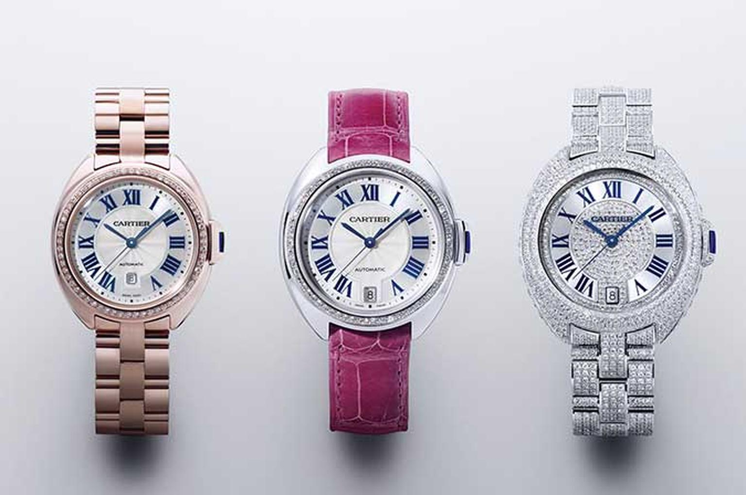 Cartier Cle watches HP