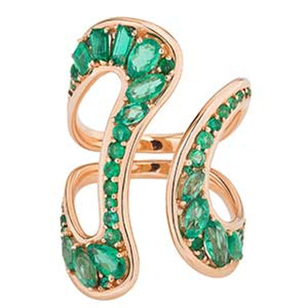 Fernando Jorge Stream emerald ring HP
