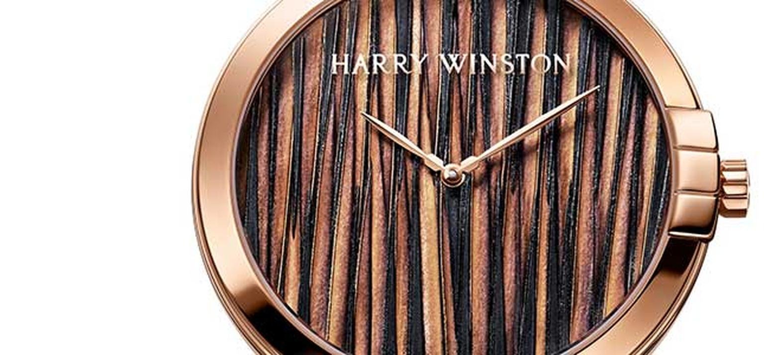 Harry Winston feather dial HP
