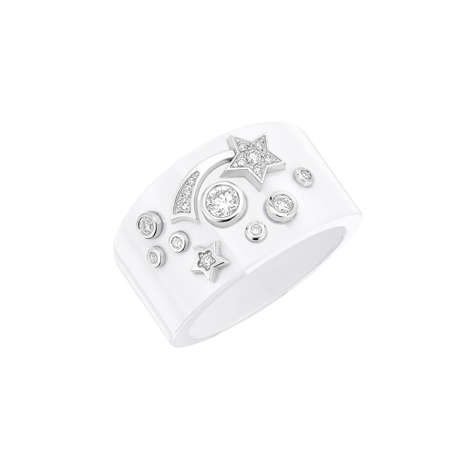 Chanel Comet Ring White Large Zoom