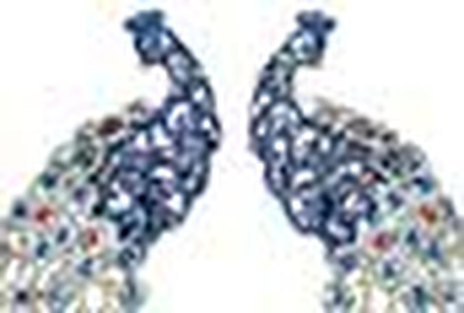 Chopard peacock earrings NL