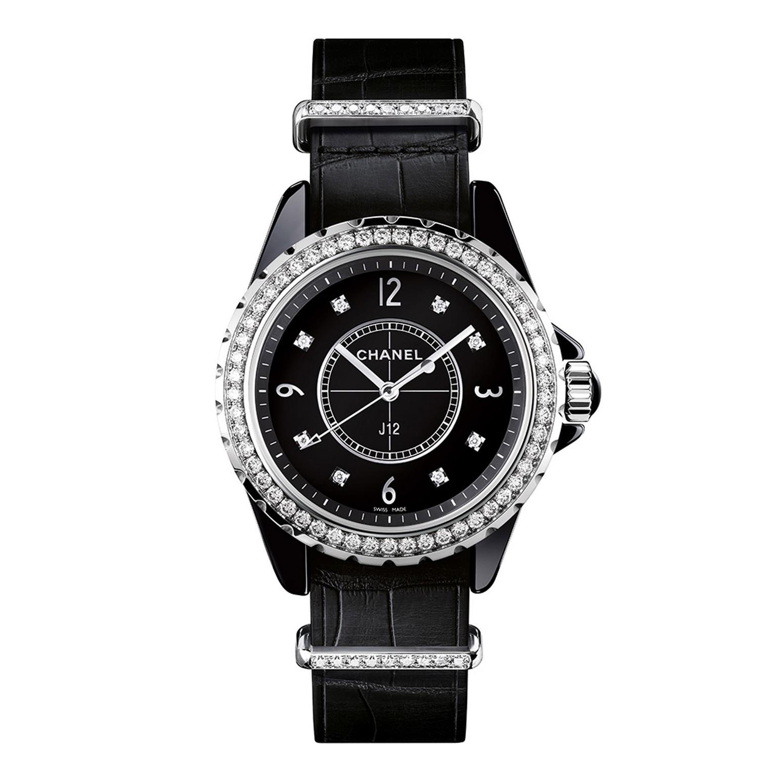 Chanel J12-G10 Black Zoom