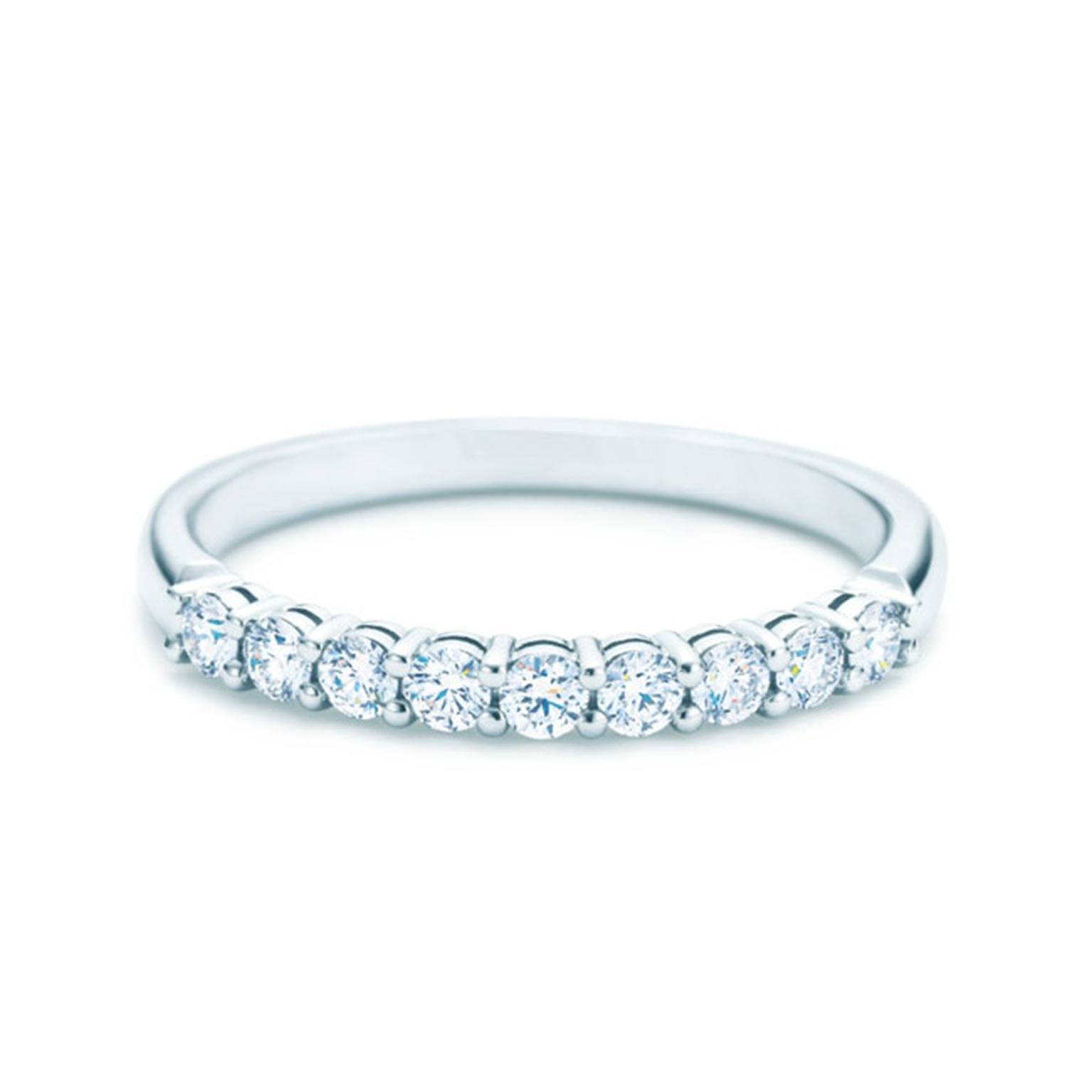 Tiffany Shared-setting Band Ring Main