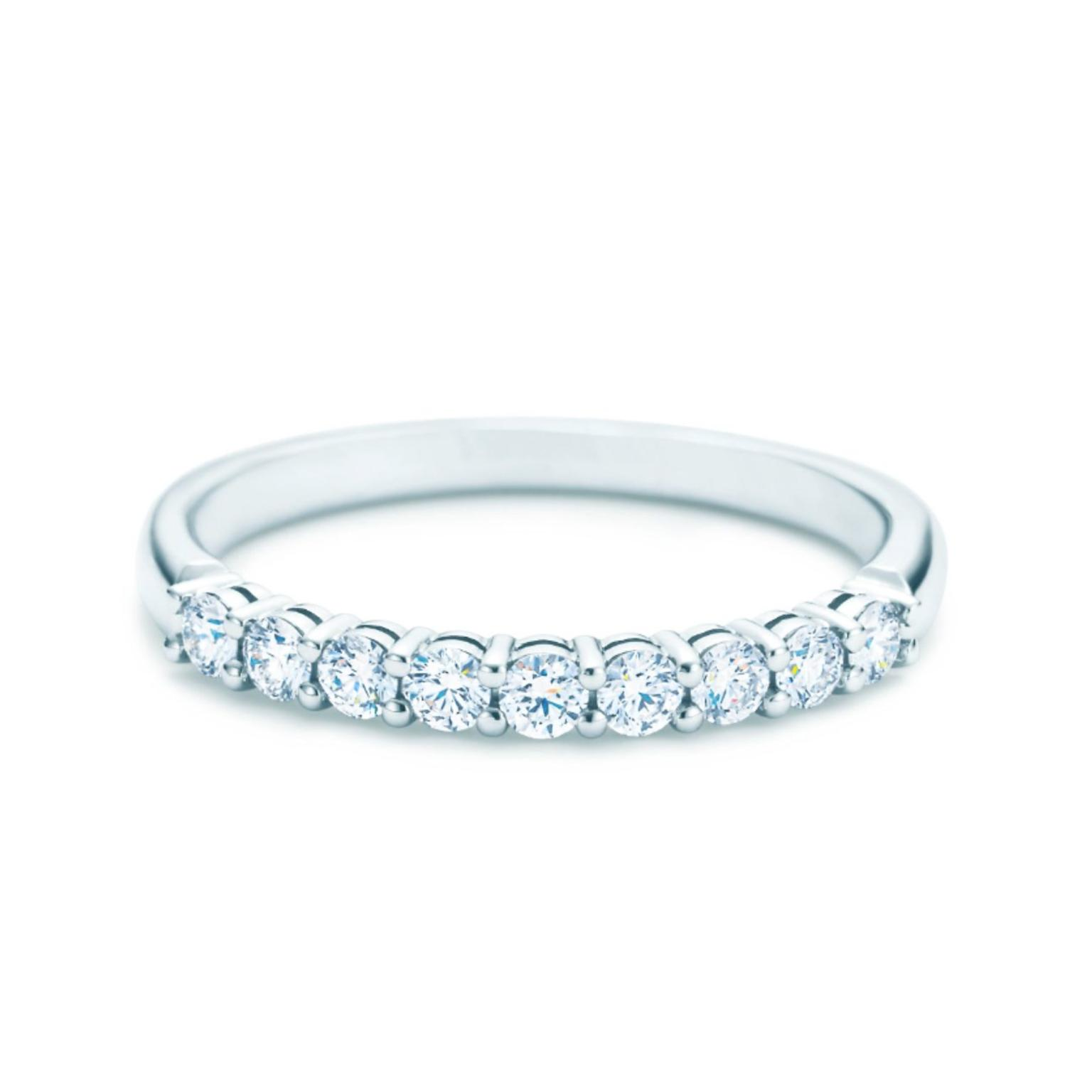 a diamonds rose pink ring diamond furst the french thin eternity band with setting gold france bands all sapphires products around