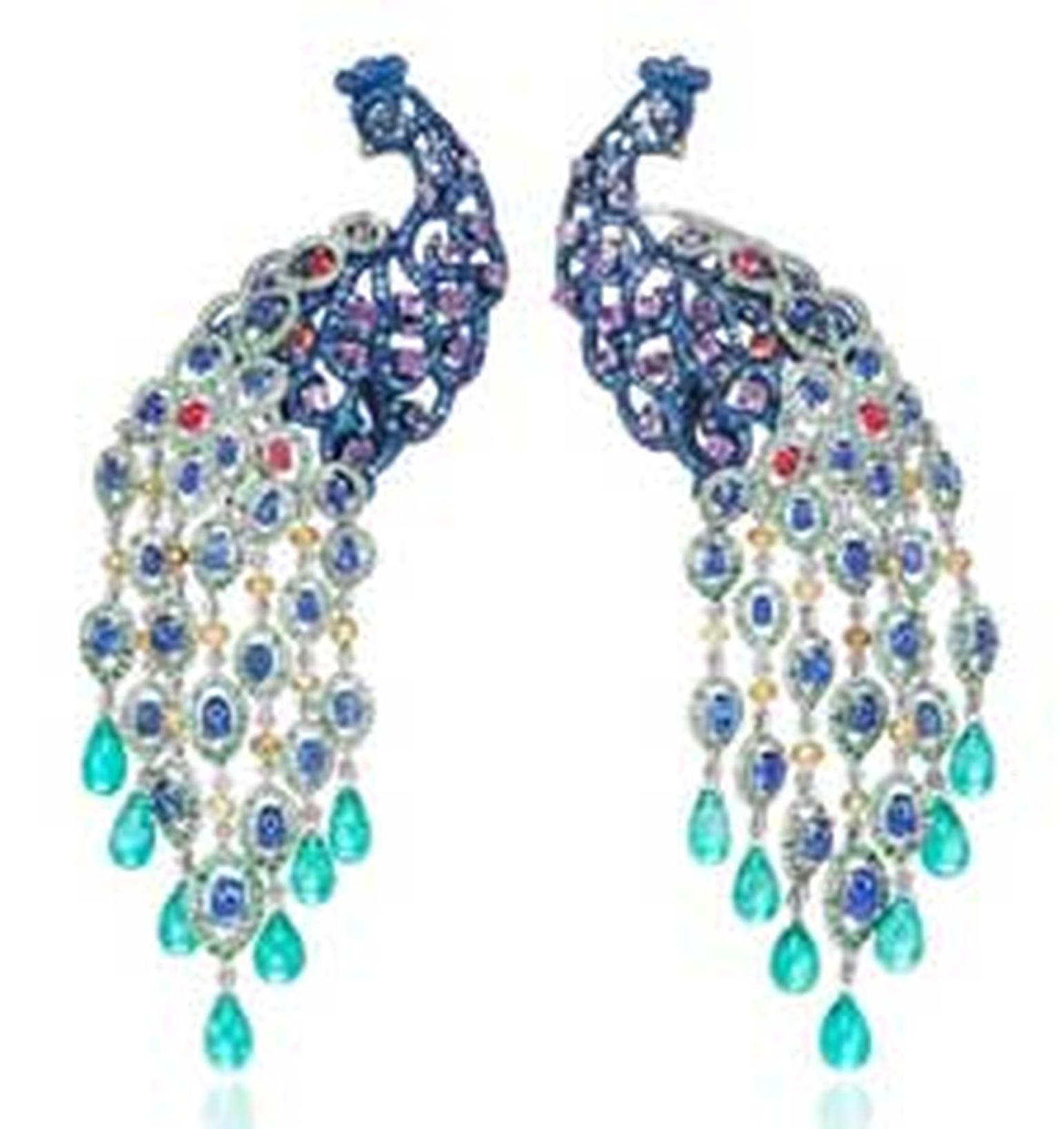 Chopard Peacock earrings HP
