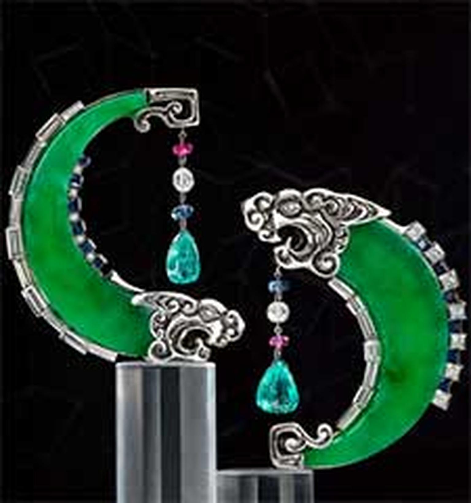 Jadeite earrings HP