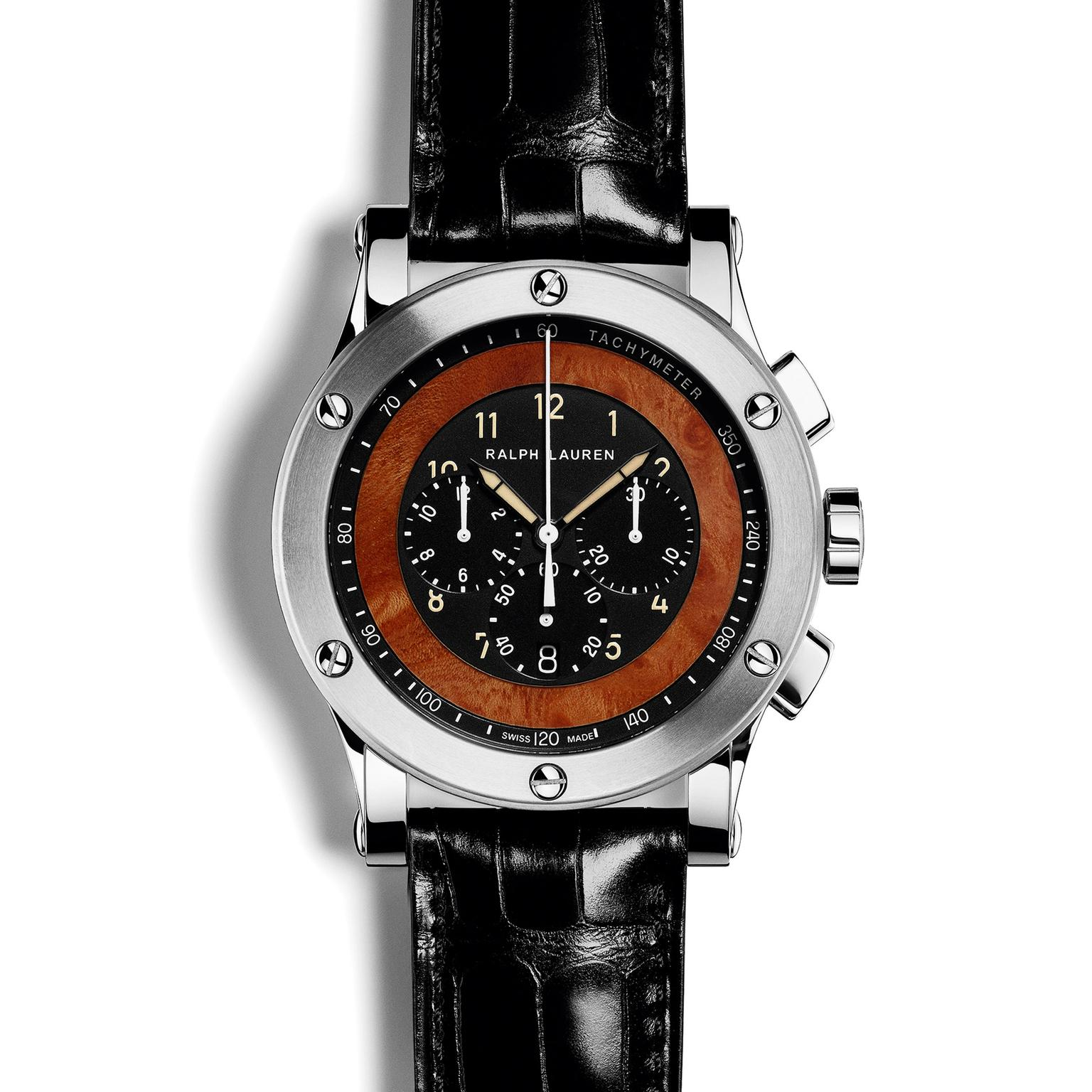Ralph Lauren 45mm Automotive Chronograph Zoom