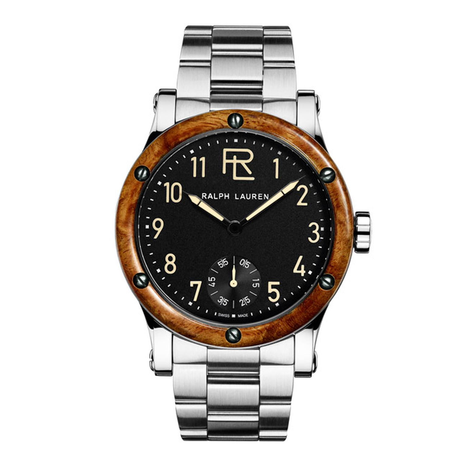 Ralph Lauren RL 45mm Automotive Chronometer Steel Bracelet Main