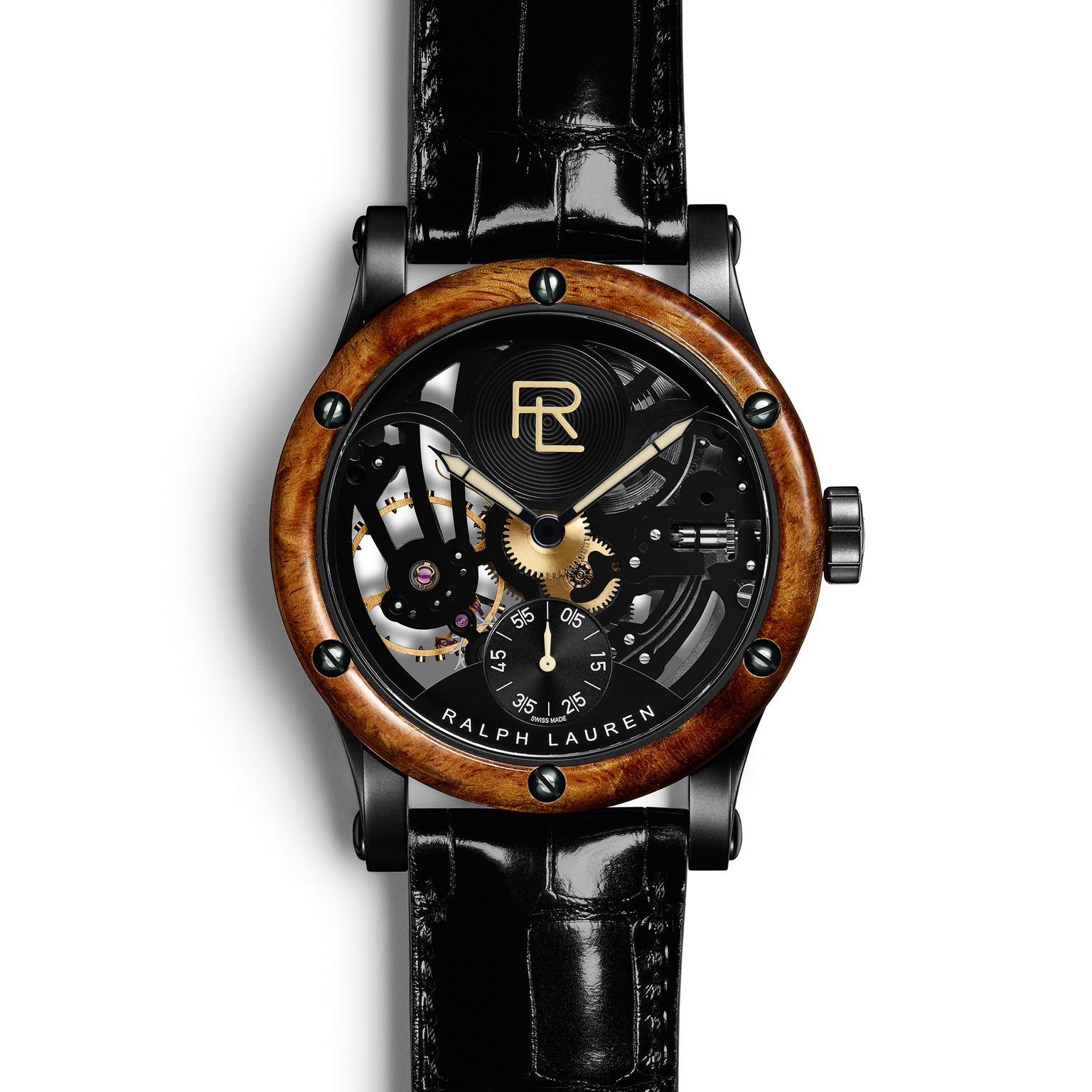 Ralph Lauren RL 45mm Automotive Skeleton zoom