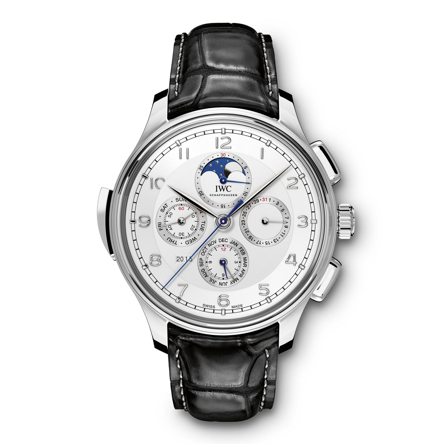 IWC Portugieser Grande Complication Moon platinum Zoom