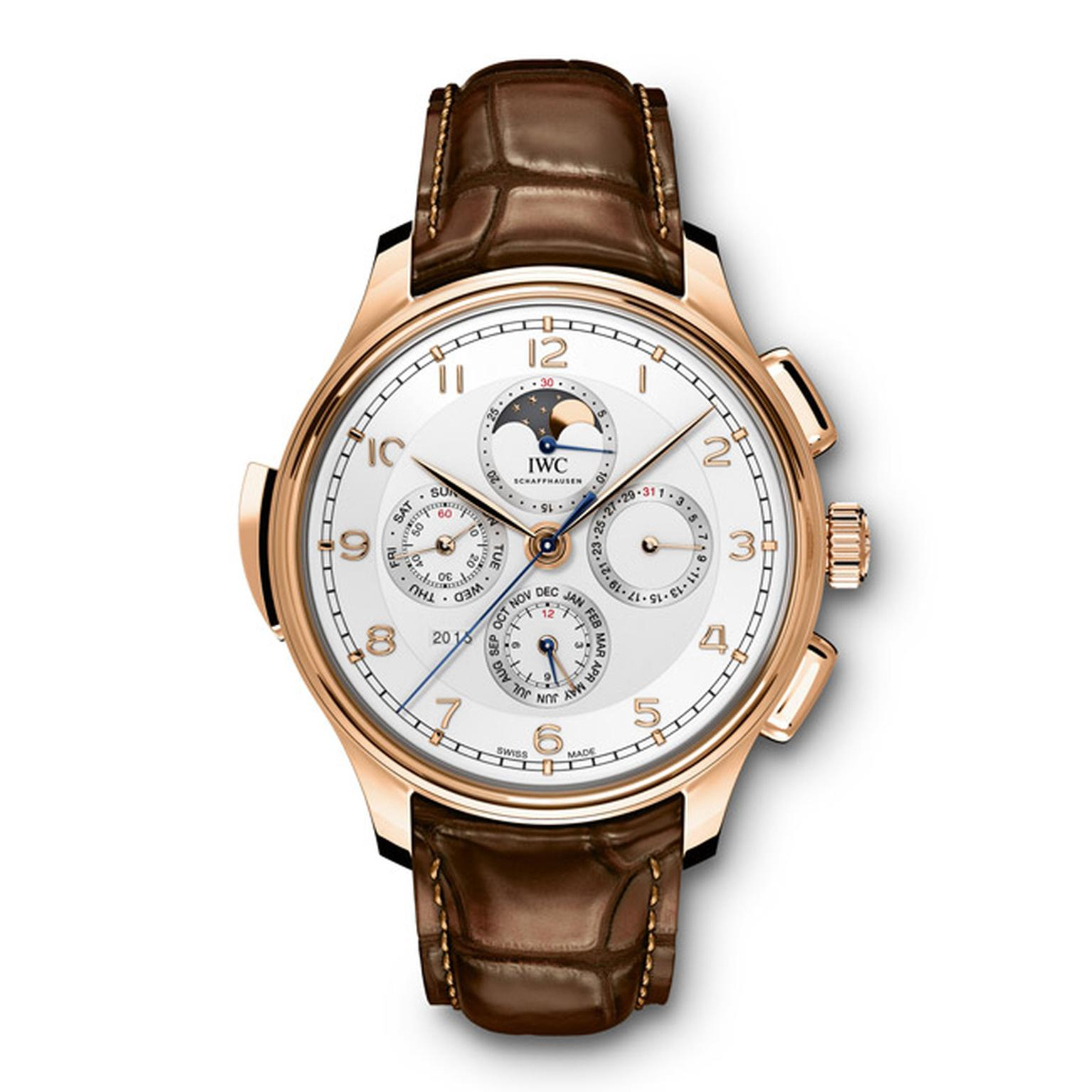 IWC Portugieser Grande Complication Moon rose gold Main