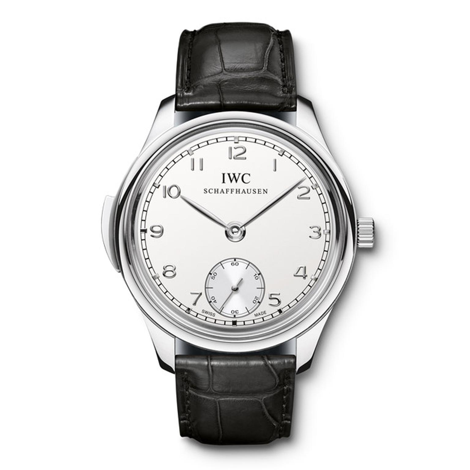 IWC Portugieser Minute Repeater in platinum Main