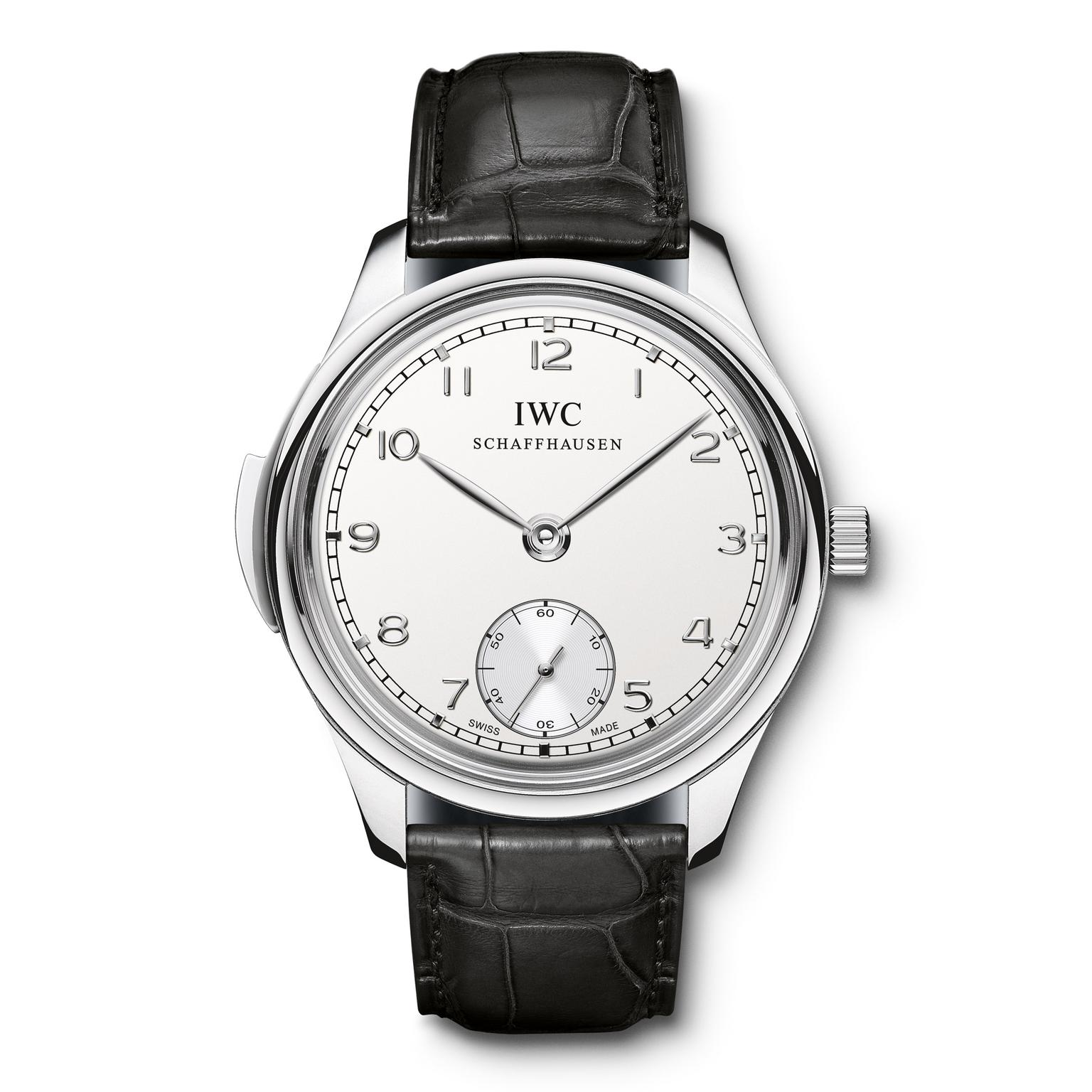 IWC Portugieser Minute Repeater in platinum Zoom