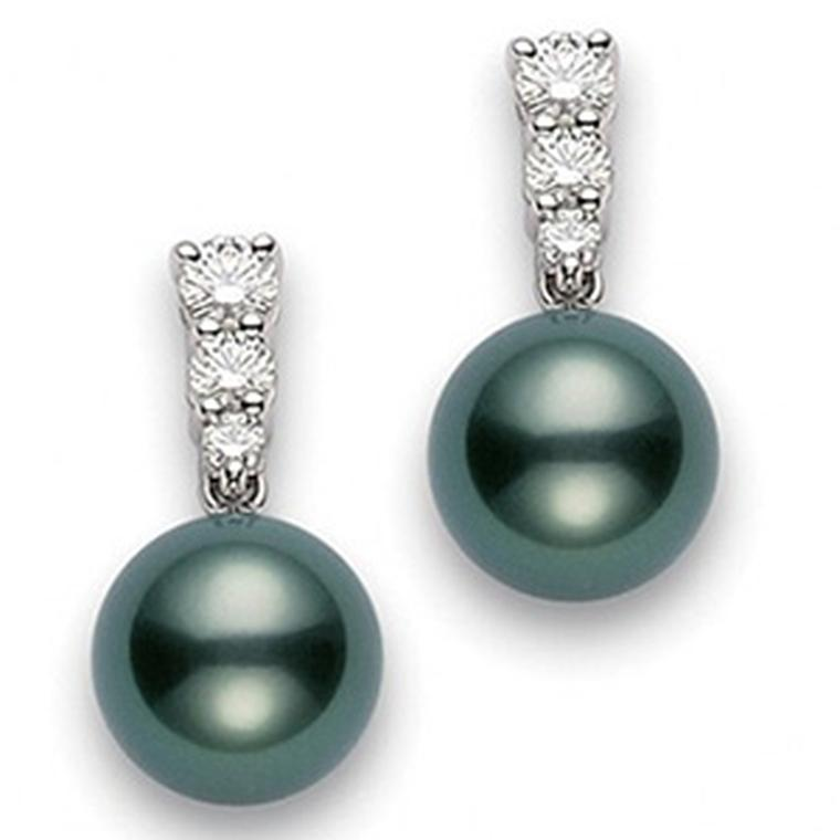 Mikimoto Morning Dew earrings