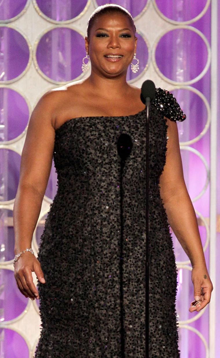 Queen Latifah wearing Chopard at the 69th Annual Golden Globe Awards - L.A., January 15th 2012