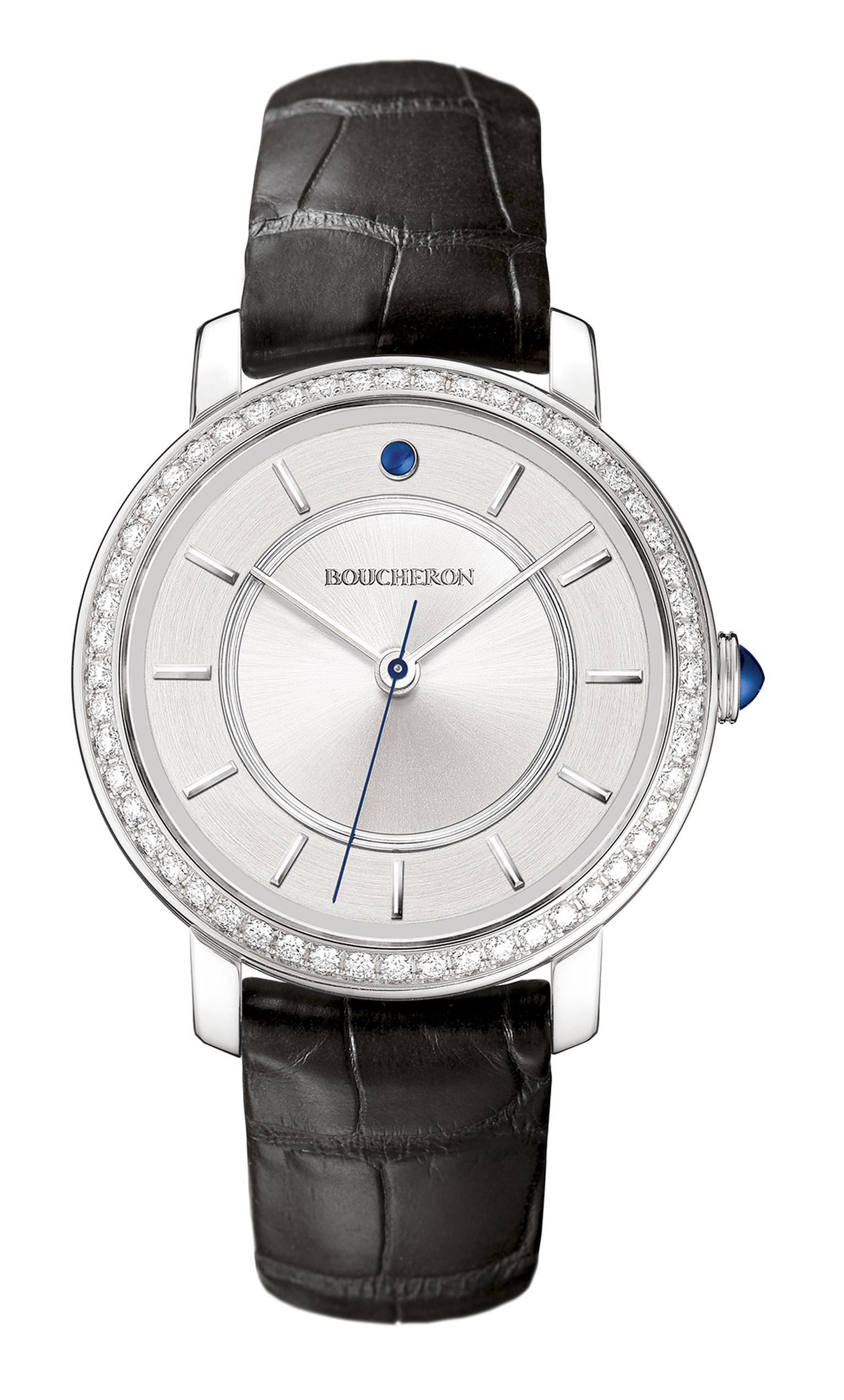 BoucheronEpureWatchWhiteGoldDiamonds38mm