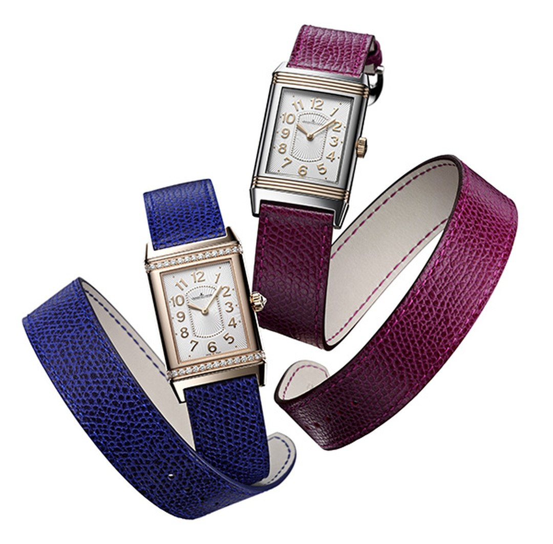 SIHH 2012 Jaeger-LeCoultre Reverso Lady Double Strap by Valextra
