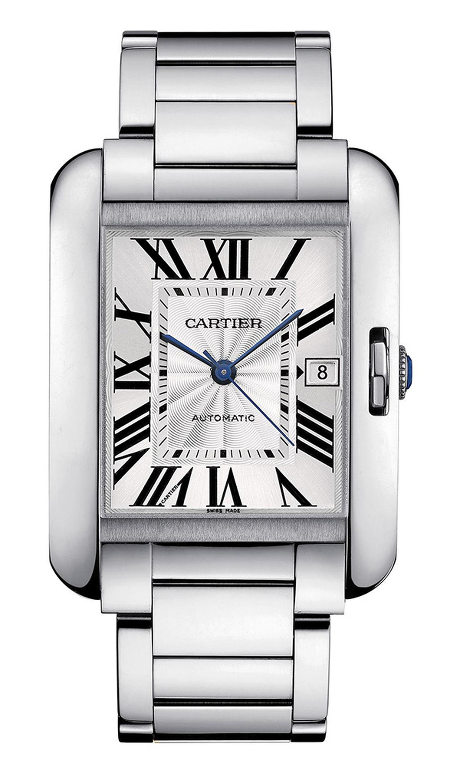 SIHH 2012 Cartier Tank Anglaise in white gold