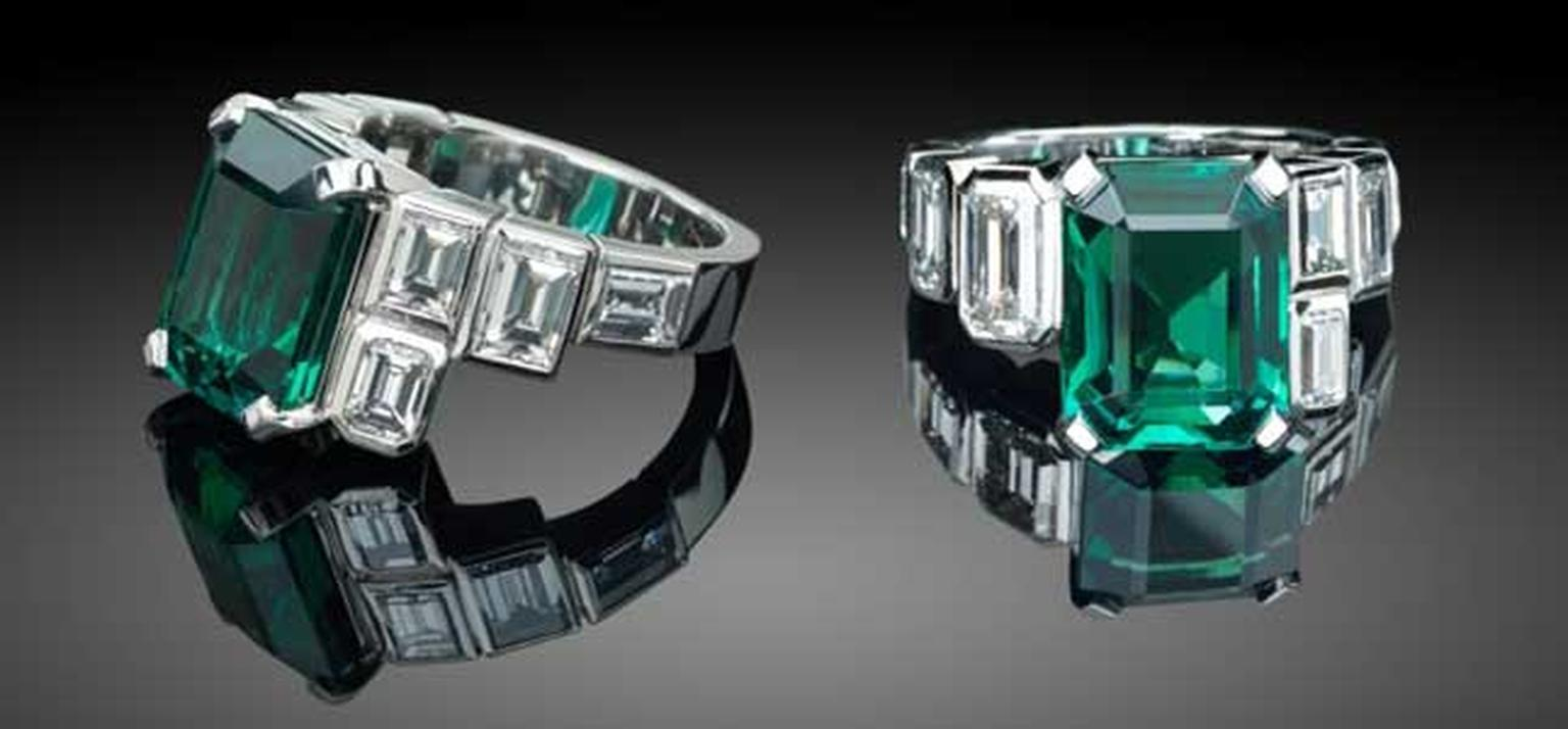 African emerald ring HP