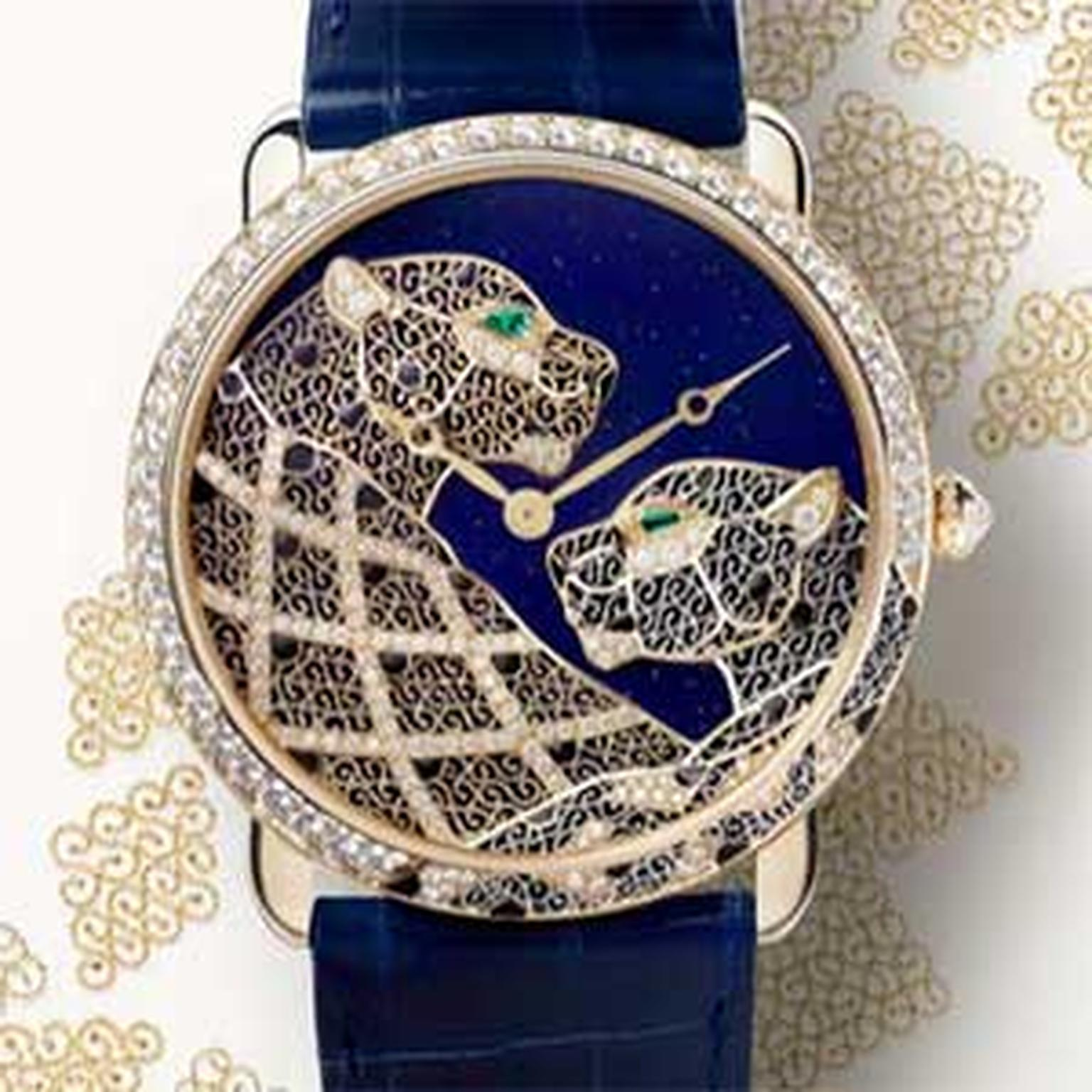 Cartier -filigree -watch