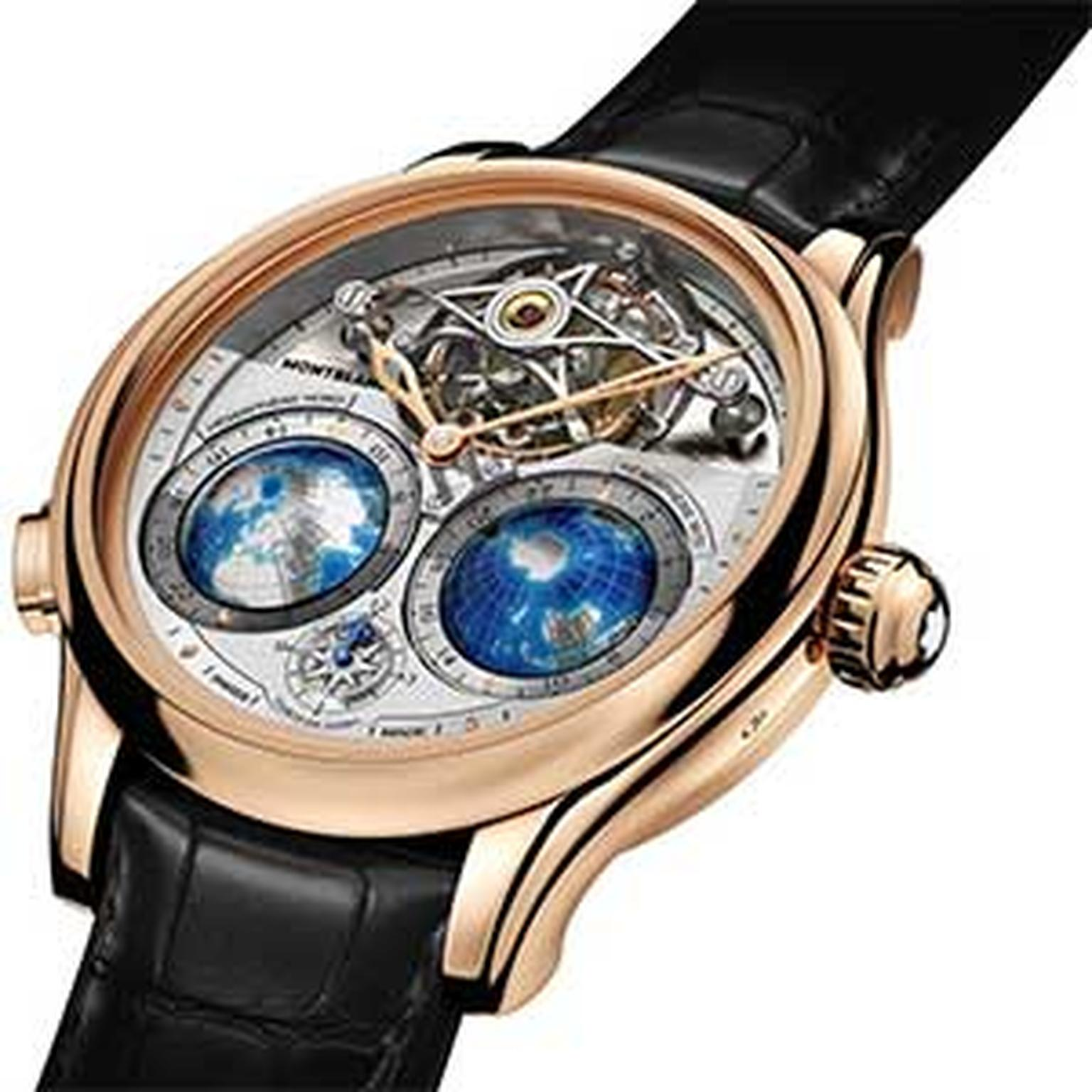 Montblanc -tourbillon -watch