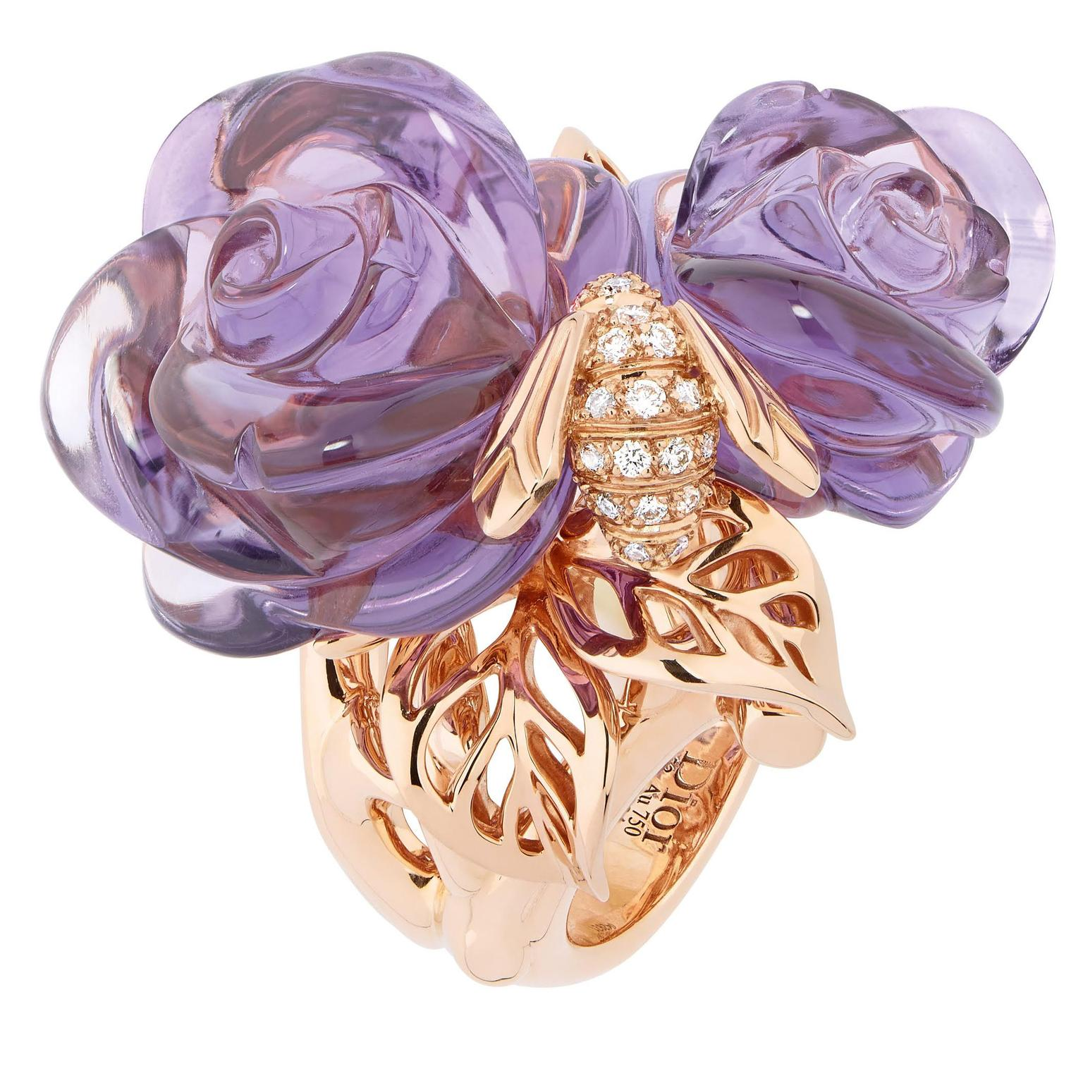 Bee Jewellery _Dior _Pre Catelan Amethyst Ring _zoom