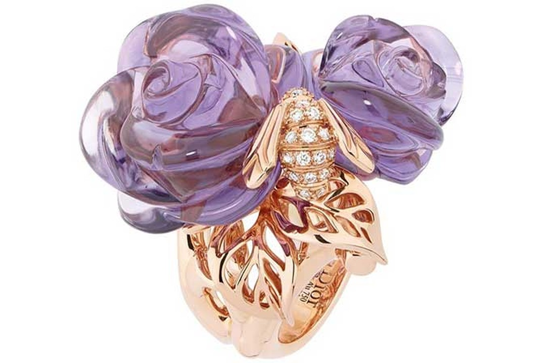 Dior -Bee -amethyst -ring