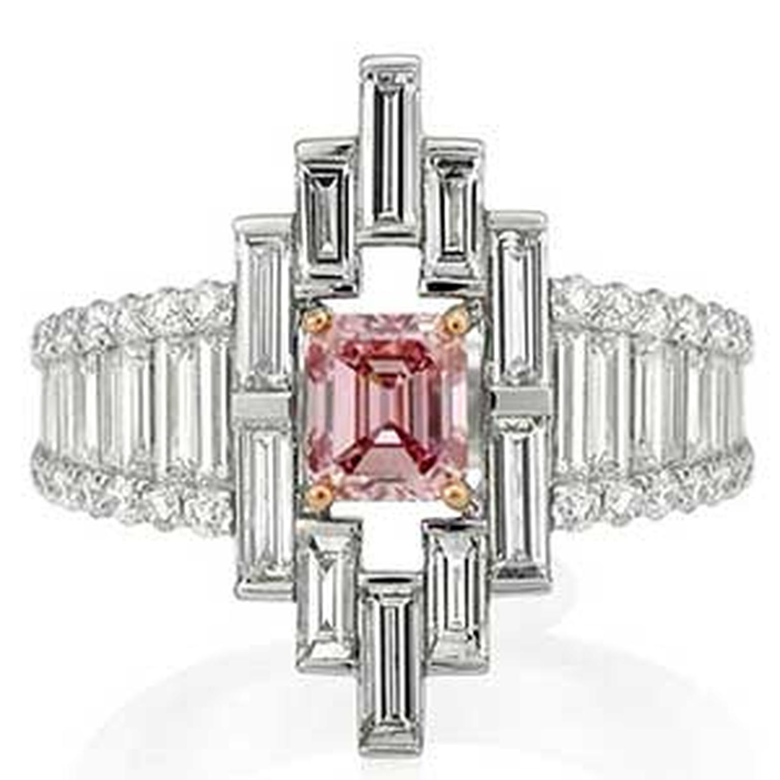 Argyle -pink -diamond -ring