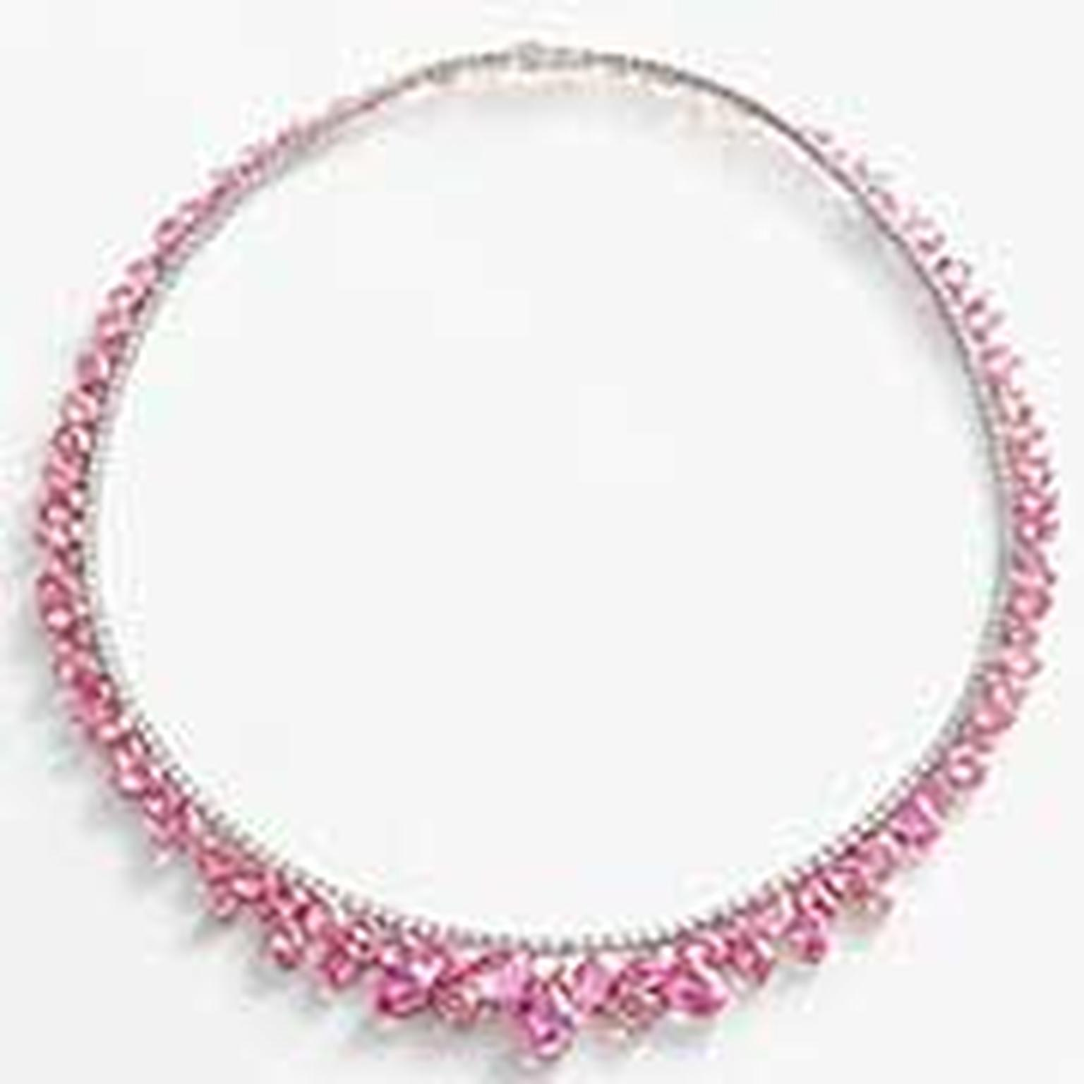 William Son Pink Sapphire Necklace NL