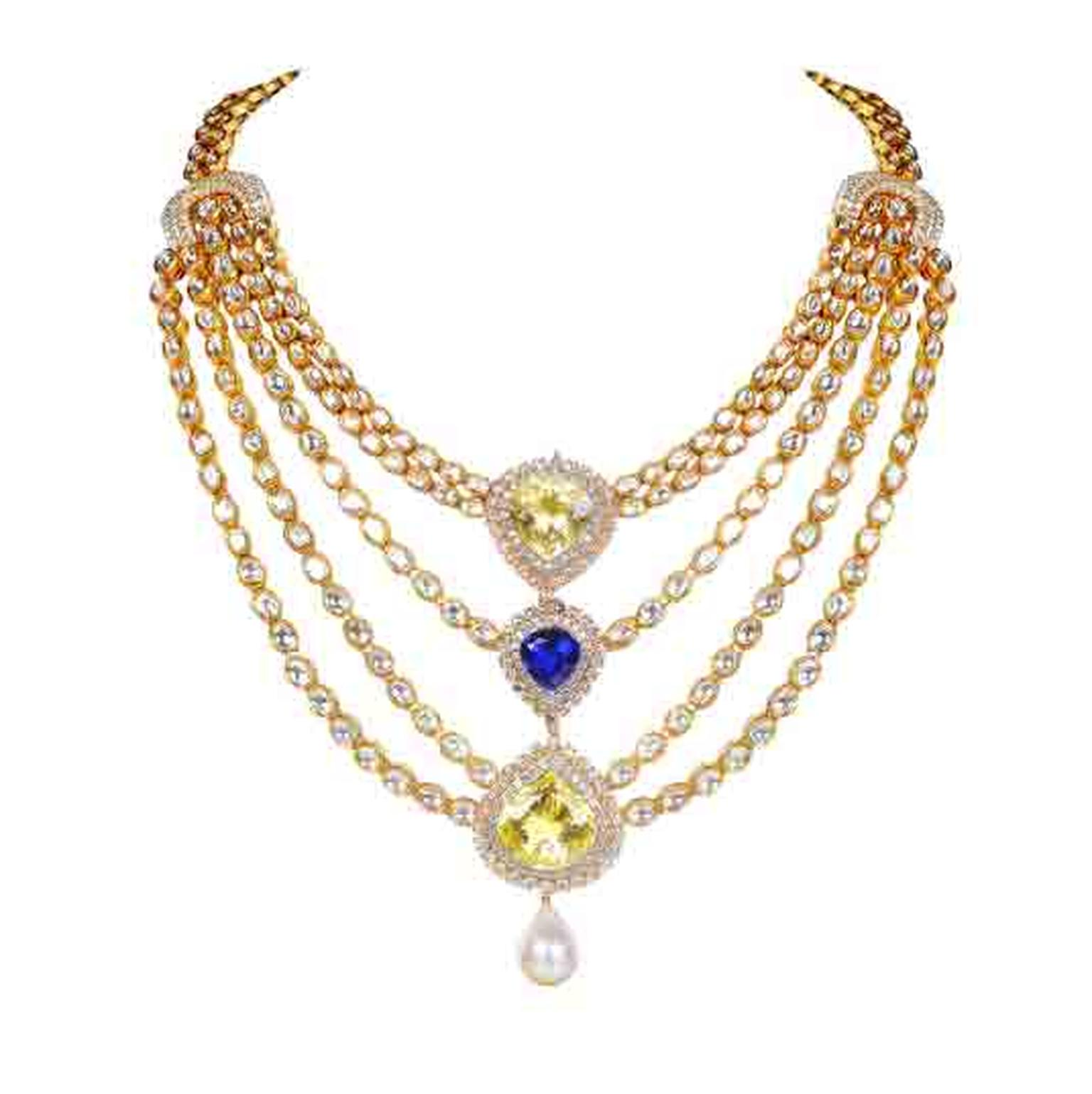 FarahKhanIndowesternpolkinecklace