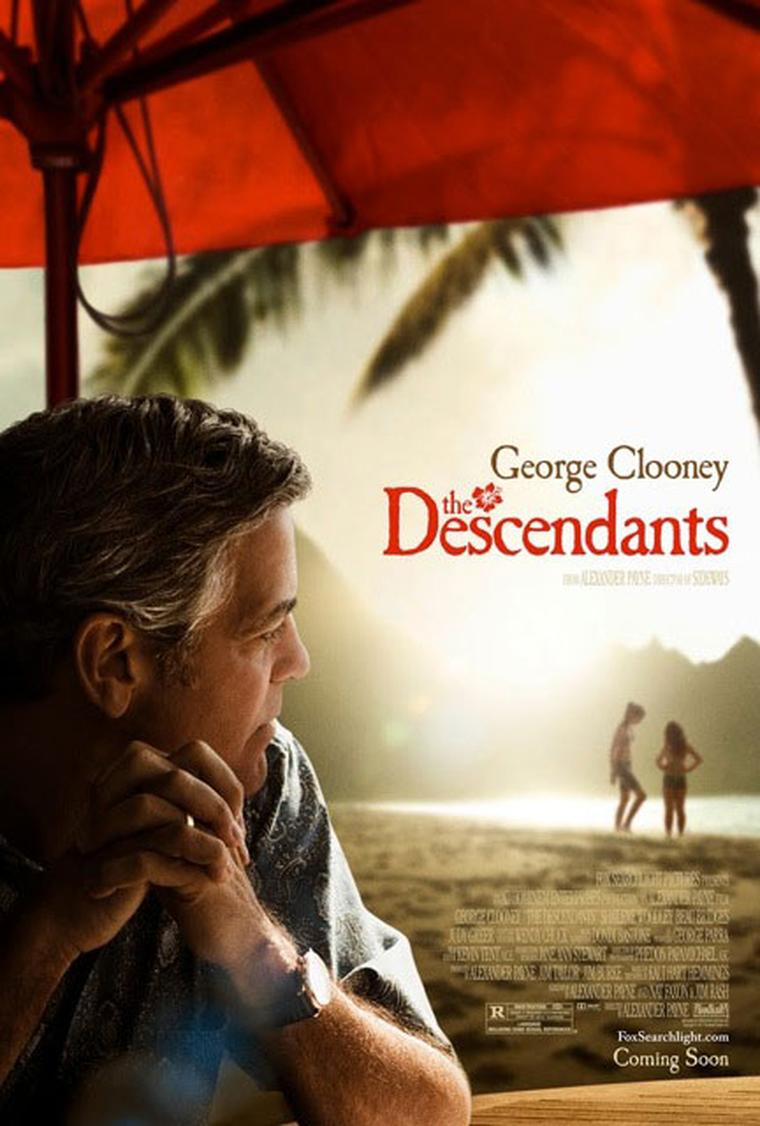 Omega George Clooney the_descendants_poster