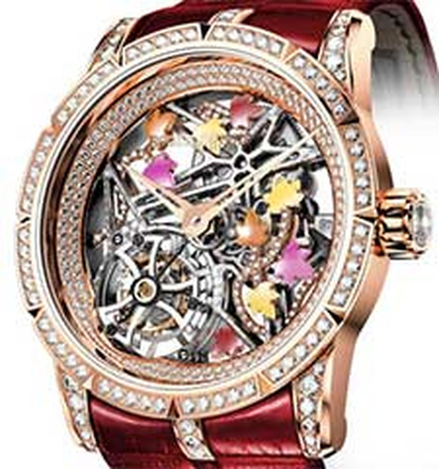 Roger Dubuis skeleton watch ladies