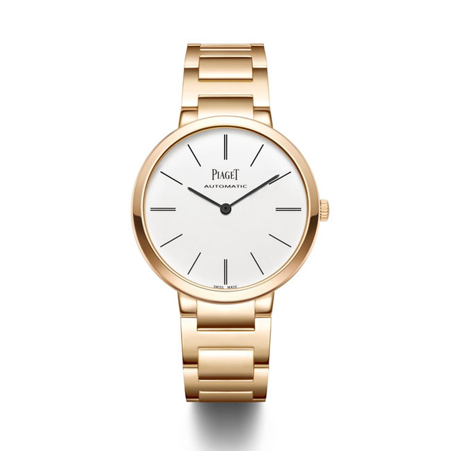 Piaget Altiplano watch rose gold bracelet_main